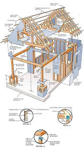 Floor Plans For Sheds 10 10 Two Storey Shed Plans U0026 Blueprints For Large Gable Shed
