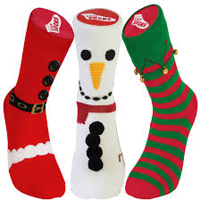 mens christmas socks silly christmas slippers thick sock mens womens rubber grip
