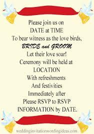 informal wedding invitations 27 casual wedding invitation wording sles vizio wedding