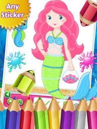 princess coloring book painting game kids icon u0027s color