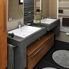 fabriquer meuble salle de bain beton cellulaire construire un meuble de salle de bain dootdadoo com u003d idées de