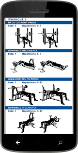 Chest Workout Dumbbells No Bench Chest Exercises Android Apps On Google Play