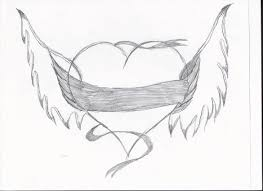 heart with wings drawing drawing pinterest wings wings
