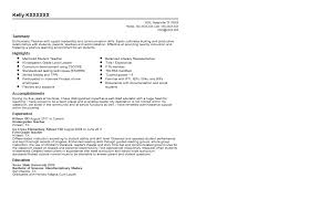 Resumes For Teachers Examples by Kindergarten Teacher Resume Sample Quintessential Livecareer