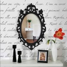 french script l shade wall stencils french wall quotes vintage design royal design
