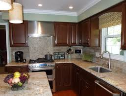 50 best kitchen backsplash ideas for 2017 remodelaholic tiny painting over faux brick backsplash stone painted ideas about faux kitchen with brick backsplash