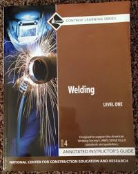welding nccer contren learning series annotated teacher u0027s