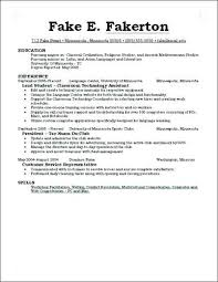 write a last minute resume college resume before size of