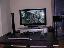 living room gaming pc pc gamers do you play from your couch system wars gamespot