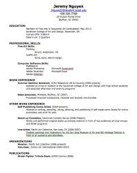 Resume Samples To Print Out by How To Write Out A Resume Resume For Your Job Application
