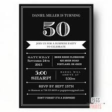 50th birthday invitations for him dhavalthakur com