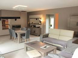 aménagement salon salle à manger cuisine déco salon salle à manger idee deco noir gris blanc bleu photos