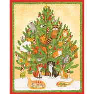 caspari christmas cards angels with gifts scandinavianshoppe