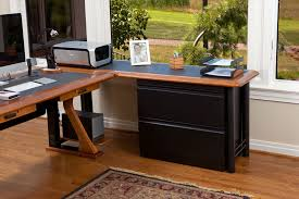Computer Desk With Filing Drawer Lateral File Cabinet For L Shaped Desks Caretta Workspace