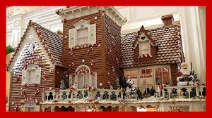 Floridian House Plans Gingerbread House Inside Disney U0027s Grand Floridian Resort Youtube