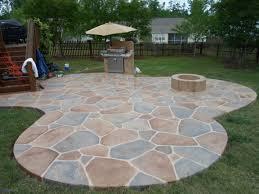 Backyard Floor Ideas Backyard Flooring Ideas Awesome Exteriors Pebble Patio