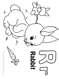 letter r alphabet coloring pages for kids letter r words the