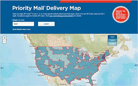 usps class shipping map stscom blognew usps tool priority mail delivery map sts