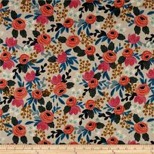 fabric home decor rifle paper co home decor fabric shop online at fabric com