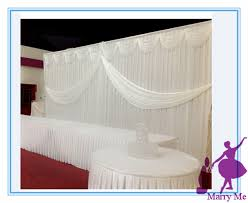 wedding backdrop for sale 3x6m silk fabric wedding backdrop curtain and stainless steel