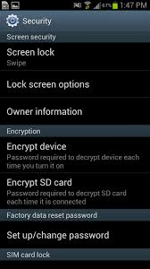 how to change lock screen on android how to set lock screen and security options on galaxy s3 android