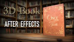 3d book u0026 storybook intro after effects youtube