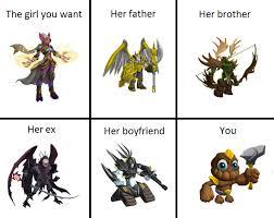 Monster Meme - monster legends meme general crew by dummyshark ren on deviantart