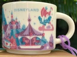 mug ornament you are here ornament disney starbucks mugs