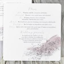 Accommodation Cards For Wedding Invitations Santorini U0027 Wedding Invitations By Julia Eastwood