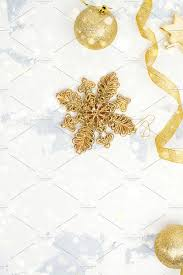 Christmas Decorations On White Background by Christmas Decorations On White Background Holiday Photos