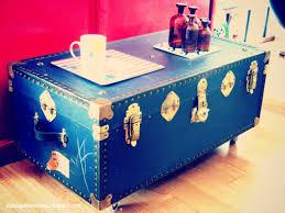 trunk coffee table diy
