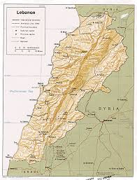 Ancient Near East Map Lebanon Maps Perry Castañeda Map Collection Ut Library Online