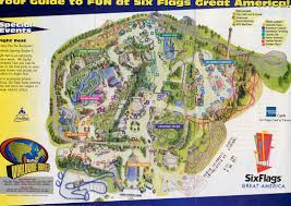 New Orleans Fairgrounds Map by Park Maps