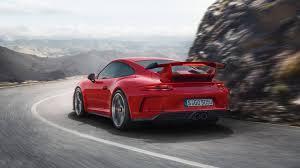 Porsche 911 Horsepower - porsche 911 gt3 has 500 hp a manual transmission and a 198 mph
