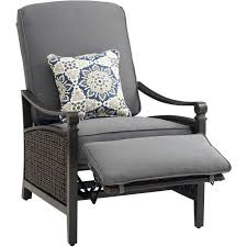 Patio Recliner Chair Chairs Outdoor Reclining Chairs Wicker Patio Chair All Weather