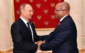 Russian Cabinet Reports Russian Delegation Met With Zuma Before Cabinet Reshuffle