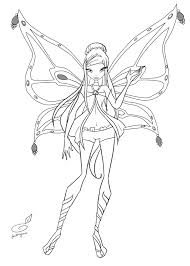 club enchantix coloring pages