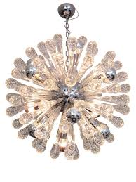 sputnik chandelier excellent italian glass and chrome sputnik chandelier decaso