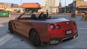 nissan gtr gta v 2017 r35 nissan gtr convertible standard widebody add on
