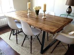 wood and metal dining table u2013 rhawker design