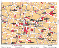 map of bologna 10 top tourist attractions in bologna planetware