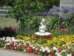 flower gardens beautiful flower garden with fountain kyprisnews