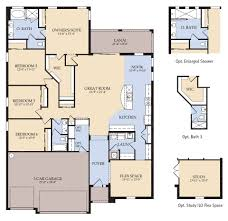 Construction Floor Plans Enchanting 6 Floor Plans For New Home Construction Homes Homeca