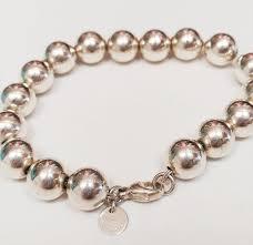 tiffany bracelet pearl images Tiffany co hardware ball bracelet designer consignment jpg