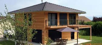 construire son chalet en bois constructeur maison bois haute savoie 74 thonon evian chablais bernex