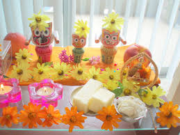 How To Make Home Decorations by How To Decorate Janmashtami At Home Blogbyemy Com