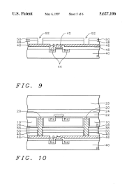 patent us5326726 method for fabricating monolithic chip drawing