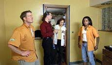 edward walker trading spaces trading spaces room makeovers test mettle of local homeowners