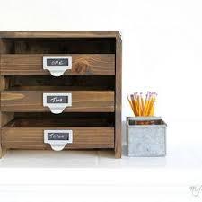 Small Desktop Drawers Best 25 Desktop File Organizer Ideas Only On Pinterest Paper