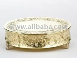 cake plateau gold wedding cake plateau buy gold wedding cake stand